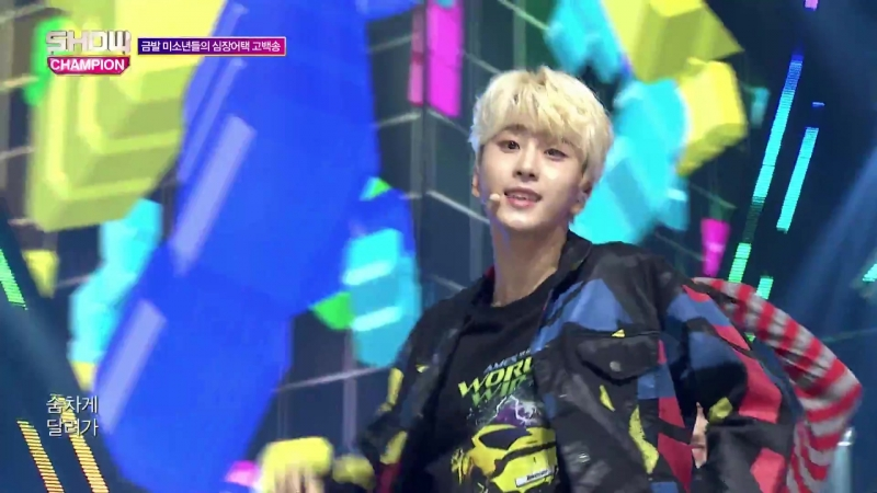 Newkidd - Shooting Star @ Show Champion 180919