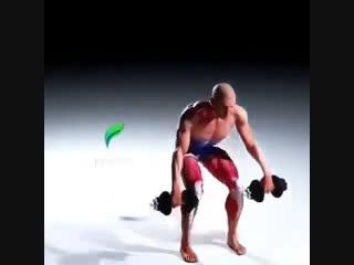 Strength of Body. Вариант замены становой тяги на тягу с гантелями