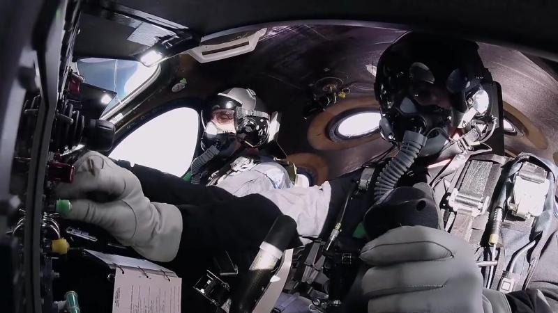 VSS Unity _ Third Rocket Powered Flight