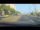 ДТП. Мотоциклист не справился с управлением на пересечении дороги с трамвайными путями