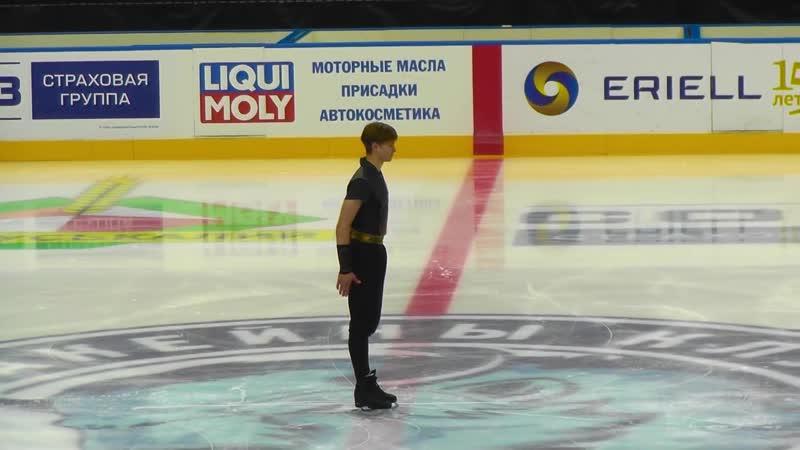 Minsk Ice Star 2018 Deniss Vasiljevs FS
