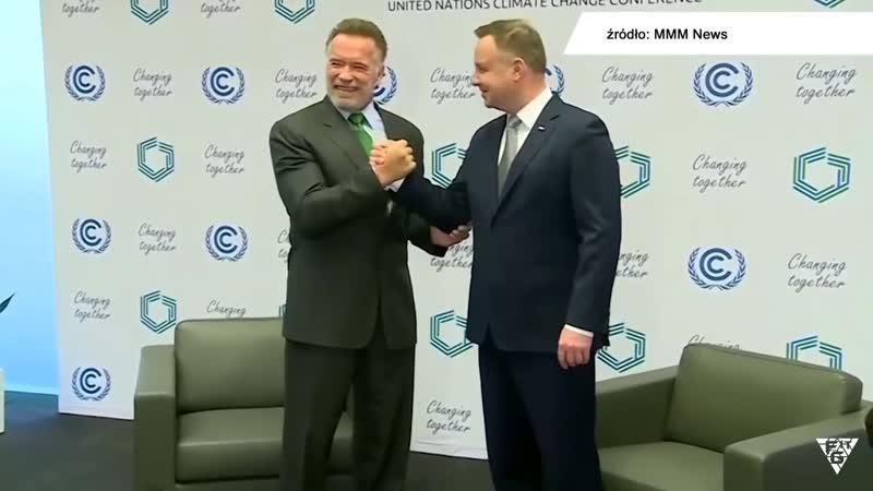 Duda i Schwarzenegger. Spotkanie na szczycie! Zobaczcie!