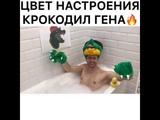 Цвет настроения Крокодил Гена (пародия)