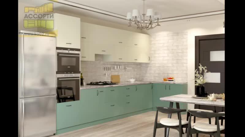 Стилистика и декоры в кухнях в 2019 году от компании Кухни Ассорти Средний