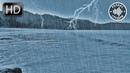 Шум Утреннего Моря с Дождем и Молниями. 10 Часов Для Сна и Релакса темный экран