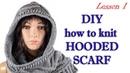 Шарф капюшон МК 1/Hooded scarf MK1