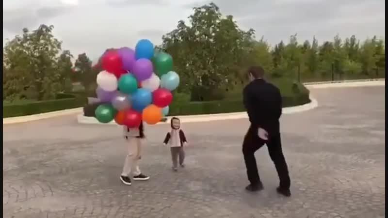 Рамзан Кадыров играет с сыном - [Веселые Кавказцы]