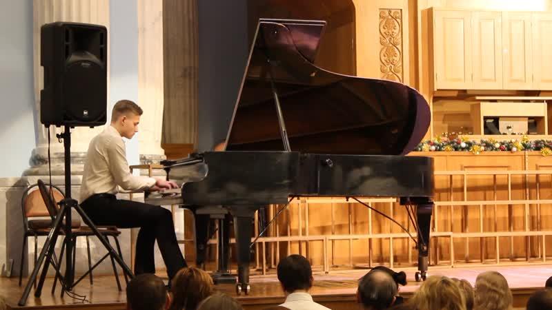 Рахманинов С.В. Прелюдия до диез минор, выступление Алишера на юбилейном концерте Македона В.М.