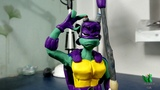 Sculpting Donatello from Rise of Teenage Mutant Ninja Turtles - Clay Tutorial