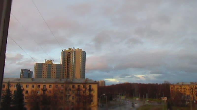Timelapse облака