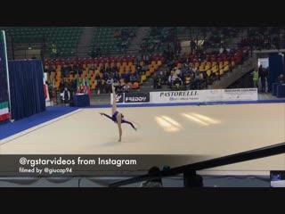 Дарья Трубникова - обруч // Клубный Чемпионат Италии, Дезио