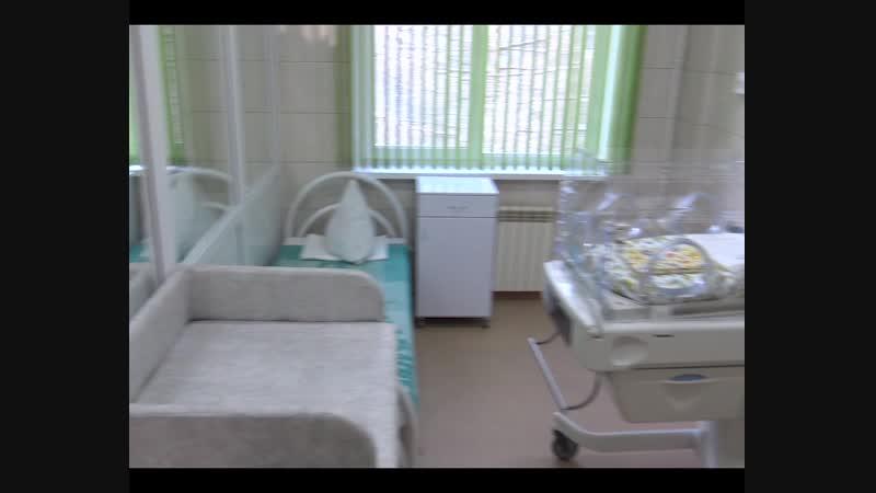 Открытие отделения патологии новорожденных и не доношенных детей в ДГБ Каменска-Уральского