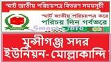 Smart card nid bd Distribution schedules national id card collection Munshiganj Sadar