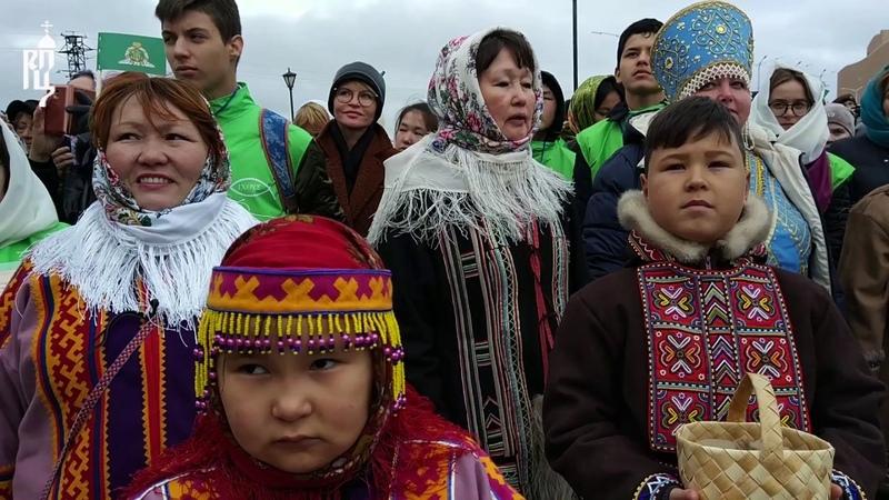 Святейший Патриарх Кирилл посетил город Дудинку