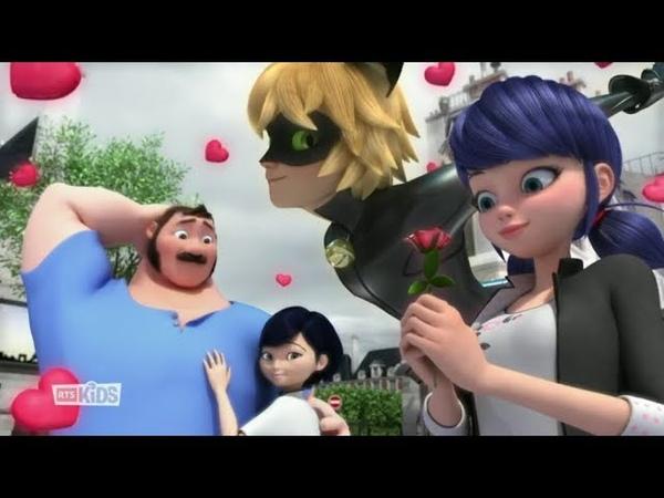 [English Subtitles] Miraculous LadyBug - Season 3 Episode 2 - WereDad