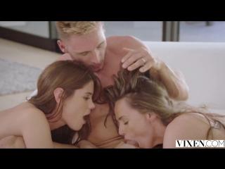 Little Caprice, Tori Black– Sugar Daddy Sharing [Vixen. HD1080, Threesome]