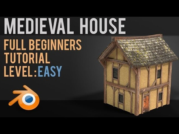 Make a Medieval house | Unwrapping Tutorial | Beginner