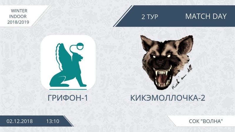 Winter Indoor. Грифон-1 - Кикэмоллочка-2 (группа A, тур 2)