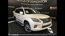Used White 2014 Lexus LX 570 Executive Package Review Beaumont Alberta