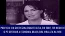 'Profecia' em que Regina Duarte dizia, em 2002, ter medo de o PT destruir a economia brasileira..