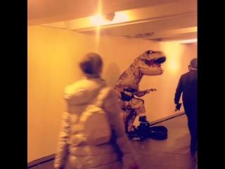 Утренний рок в подземке