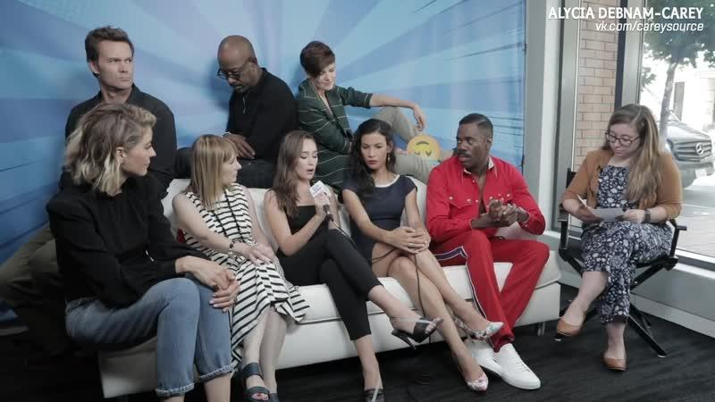 Интервью для «TV Insider» на Комик-Коне в Сан-Диего | 19.07.2018 (Русские субтитры)