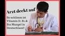 Arzt rechnet mit deutschem Gesundheitssystem ab 😳 Offener Brief zu Vitamin D3, B1 B12 Mangel