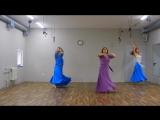 Видео №104. Восточный танец. Carol Sakr - JirhGhiyabak