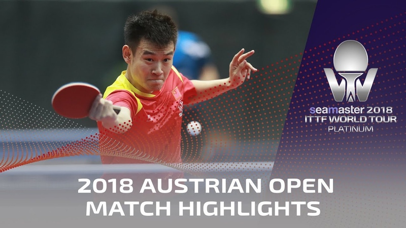 Xu Xin vs Liu Dingshuo I 2018 ITTF Austrian Open Highlights (R32)