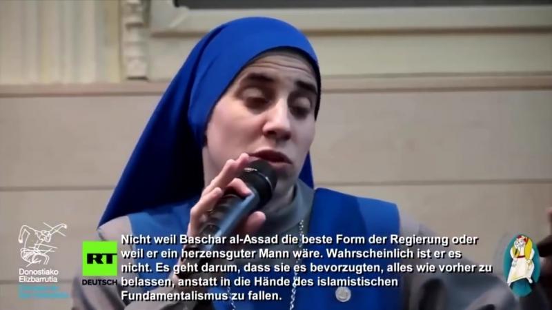 Christliche Nonne nach Rückkehr aus Aleppo_ Westmedien lügen über Realitäten
