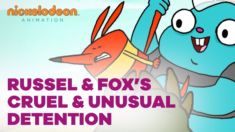 Russel Fox's Cruel and Unusual Detention | Nick Animated Shorts