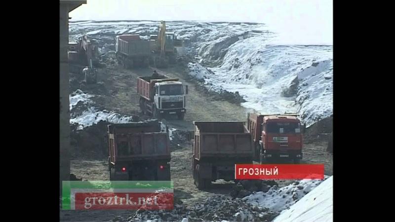 Зачистка грозненского моря Чечня