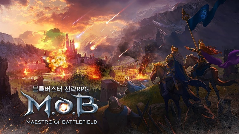MOB Maestro of Battlefield android game first look gameplay español