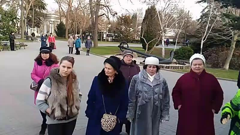Танцы на Приморском бульваре Севастополь 21 02 19 Певец Сергей Соков LIVE