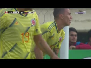 Peru - colombia - ofs - goal