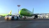 Наземное обслуживание (Ground Handling) ВС А-319 авиакомпании S7 Airlines в аэропорту Домодедово ч.6