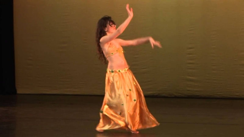 Salwa 's students life Ema 11 years old Stars of Bellydance winner 2012