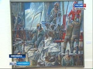 Масштабная выставка новосибирских художников «Связь времен» проходит в Новосибирске