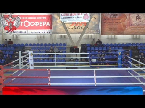 Международные соревнования по боксу памяти Российских воинов погибших в горячих точках Финалы