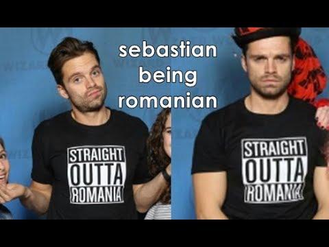 Sebastian stan being romanian