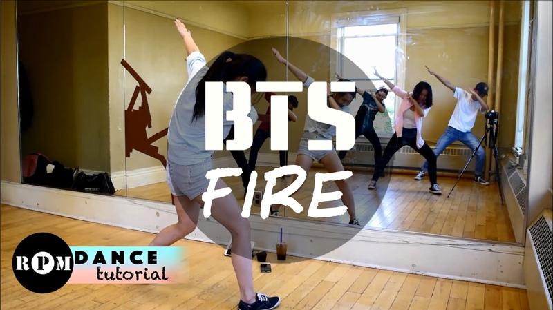 BTS Fire Dance Tutorial (Intro, Chorus, Quickstep)