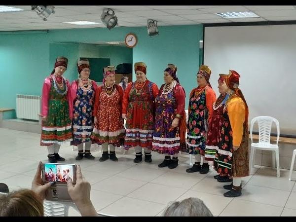 Представление этнографической группы с. Архангельское перед участниками 37-го СФФ