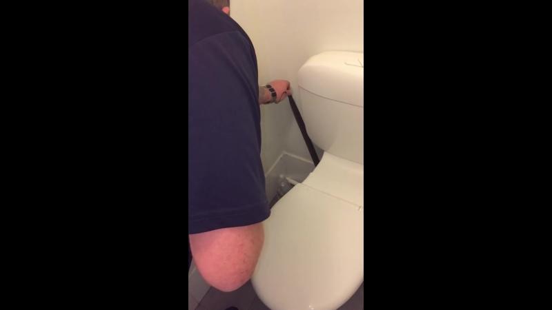 кто то отложил личину мимо туалета