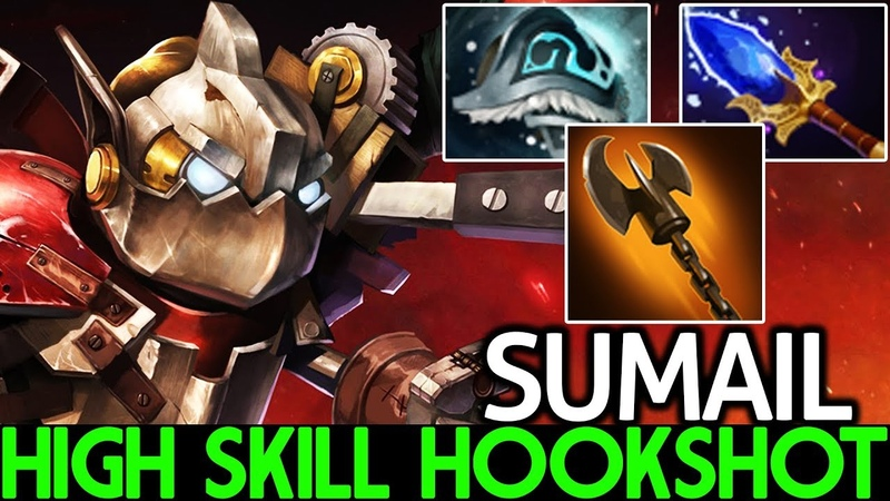 SumaiL [Clockwerk] Very High Skill Hookshot Pro Gameplay 7.20 Dota 2