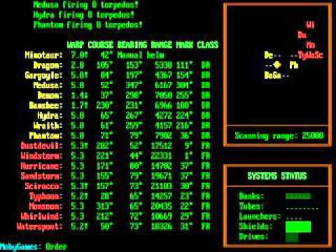 Begin A Tactical Starship Simulation 1989