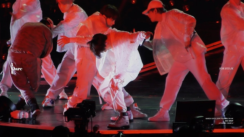 190324 LOVE YOURSELF CONCERT IN HK - MIC DROP 방탄소년단 BTS 정국 직캠 JUNGKOOK Focus.
