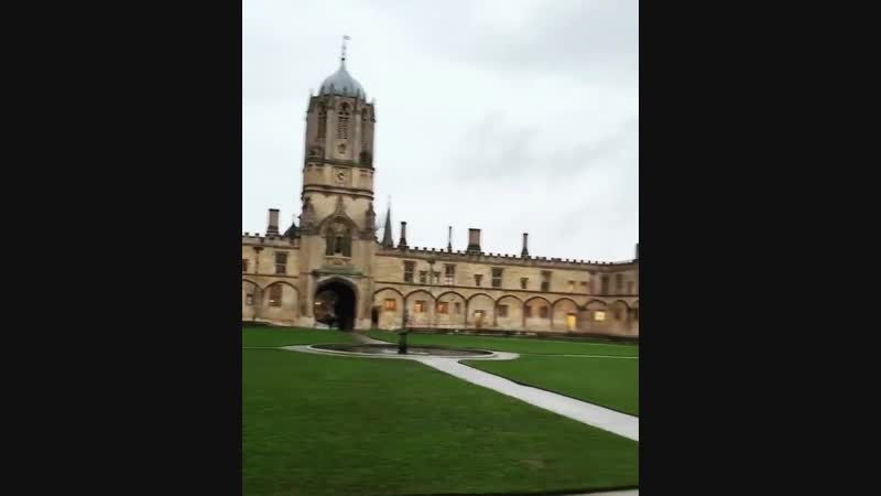 Camila Cabello: Actual script taken from Harry Potter (filmed in Christ church college AKA the real Hogwarts)