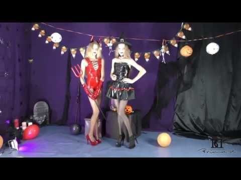 Jessy and Agness Halloween promo agency Brima.d