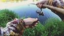 Поймал РЫБУ МЕЧТЫ на перекате! Рыбалка среди камней!