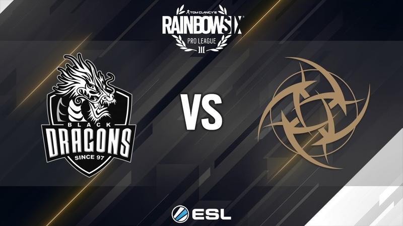 Rainbow Six Pro League - Season 8 - LATAM - Black Dragons vs. Ninjas in Pyjamas - Week 8